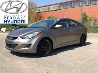 Used 2012 Hyundai Elantra GL PKG - ONE OWNER! for sale in Etobicoke, ON