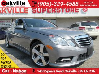 Used 2011 Mercedes-Benz E-Class E350 4MATIC | LEATHER | NAV | BLUTOOTH for sale in Oakville, ON