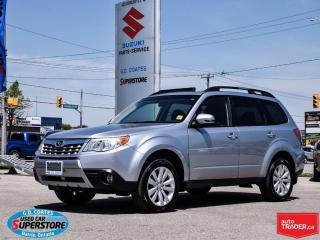 Used 2012 Subaru Forester X Limited AWD ~Heated Leather ~Panoramic Roof for sale in Barrie, ON