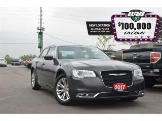 Used 2017 Chrysler 300 Touring - V6, RWD, GPS, Sunroof, Bluetooth, Back U for sale in London, ON