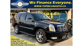 Used 2014 Cadillac Escalade 115K kms, Navigation, Blind Spot & more for sale in Vaughan, ON