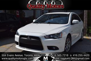Used 2015 Mitsubishi Lancer Sportback SE LIMITED EDITION for sale in Etobicoke, ON