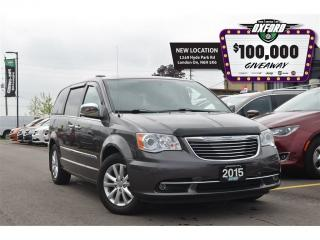 Used 2015 Chrysler Town & Country Limited - DVD< GPS, pwr sliding doors, back up cam for sale in London, ON