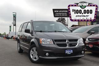 Used 2015 Dodge Grand Caravan Crew - GPS, Back Up Cam, Trailer Hitch for sale in London, ON