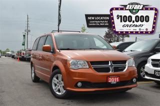 Used 2011 Dodge Grand Caravan Crew - pwr doors, back up cam, sat radio for sale in London, ON
