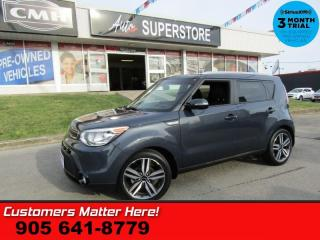 Used 2015 Kia Soul SX  NAV CAM LEATHER PANO-ROOF HS BT ALLOYS for sale in St Catharines, ON