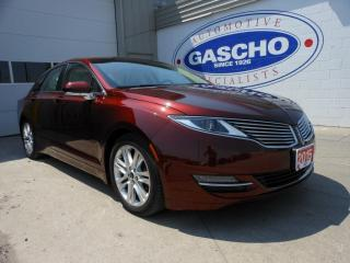 Used 2015 Lincoln MKZ NAVI|AWD|LEATHER|REMOTE START for sale in Kitchener, ON