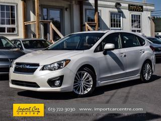 Used 2014 Subaru Impreza 2.0i HATCH SPORT PKG SUNROOF HEATED SEATS for sale in Ottawa, ON