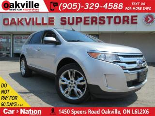 Used 2014 Ford Edge SEL | LEATHER | PANO ROOF | B/U CAM | NAV for sale in Oakville, ON