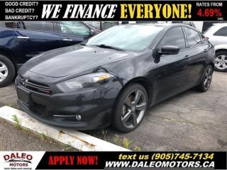 Used 2014 Dodge Dart GT| BACKUP CAM| NAV| LEATHER| SUNROOF for sale in Hamilton, ON