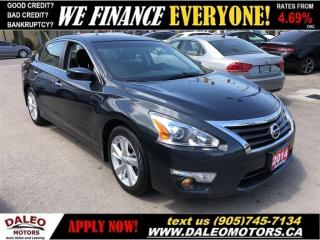 Used 2014 Nissan Altima 2.5| BACKUP CAM| NAVI| HEATED SEATS for sale in Hamilton, ON