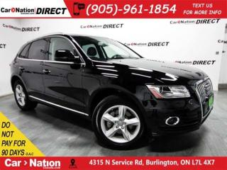 Used 2015 Audi Q5 3.0T Progressiv| PANO ROOF| NAVI| LOW KM'S| for sale in Burlington, ON