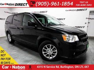 Used 2012 Dodge Grand Caravan R/T| VERY LOW KM'S| DVD| LEATHEHR| NAVI| for sale in Burlington, ON