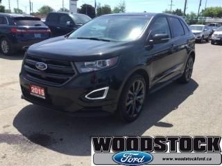 Used 2015 Ford Edge Sport Canadian Touring Package, Navigation for sale in Woodstock, ON
