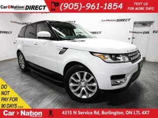Used 2015 Land Rover Range Rover Sport V6 HSE| 7-PASSENGER| PANO ROOF| LOW KM'S| for sale in Burlington, ON