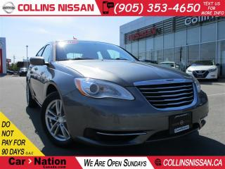 Used 2012 Chrysler 200 LX ALLOYS | CRUISE | LOW KM'S | for sale in St Catharines, ON
