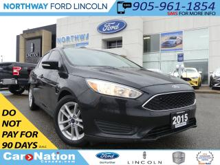 Used 2015 Ford Focus SE | REAR CAMERA | SYNC BLUETOOTH | for sale in Brantford, ON