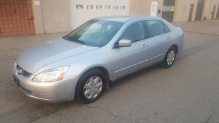 Used 2003 Honda Accord Sdn LX-G for sale in Burlington, ON
