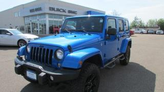 Used 2016 Jeep Wrangler Unlimited Sahara / $305.00 bi-weekly for 84 mths for sale in Arnprior, ON