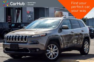 Used 2017 Jeep Cherokee Limited|Trailer Tow,Luxury Pkgs|Nav|R_Start|Heat.Frnt Seats for sale in Thornhill, ON