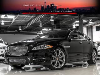 Used 2015 Jaguar XJ 3.0 AWD|NAVI|BLINDSPOT|REAR CAM|COOLEDSEATS|MERIDIAN|LOADED for sale in North York, ON