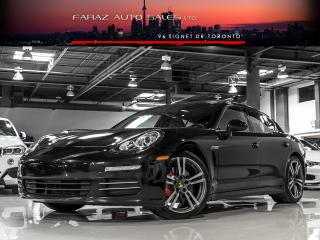 Used 2014 Porsche Panamera 4|RED INT|SPORT CHRONO|NAVI|BLINDSPOT|REAR CAM|LOADED for sale in North York, ON