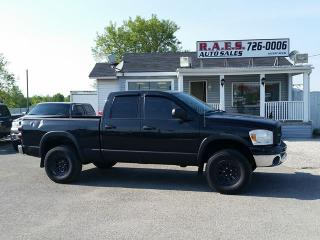 Used 2007 Dodge Ram 1500 SLT 4X4 CREW CAB for sale in Barrie, ON