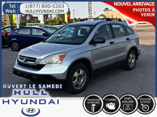 Used 2009 Honda CR-V Lx, Aux, Cruise, Bon for sale in Gatineau, QC