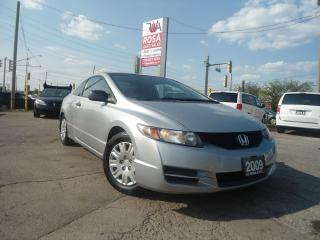 Used 2009 Honda Civic 2DR 5 SPEED MANUAL PL PM PW for sale in Oakville, ON