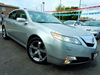 Used 2009 Acura TL SH-AWD TECH PKG | NAVI.CAMERA | LEATHER.ROOF for sale in Kitchener, ON