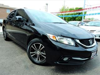 Used 2013 Honda Civic TOURING | NAVIGATION.CAMERA | LEATHER.ROOF for sale in Kitchener, ON