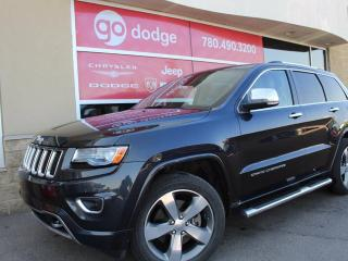 Used 2014 Jeep Grand Cherokee Overland 4x4 / GPS Navigation / Back Up Camera for sale in Edmonton, AB