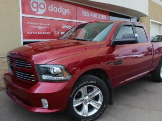 Used 2013 RAM 1500 Sport 4x4 Quad Cab / Rear Back Up Camera for sale in Edmonton, AB