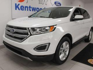 Used 2017 Ford Edge SEL AWD with heated power seats, push start/stop, back up cam and keyless entry for sale in Edmonton, AB