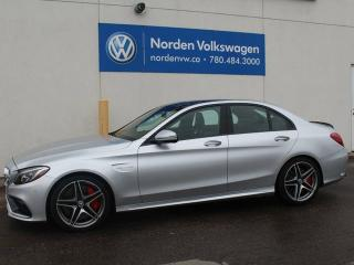 Used 2017 Mercedes-Benz C-Class C63 S AMG - FULLY LOADED for sale in Edmonton, AB