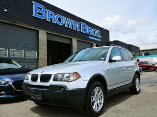 Used 2006 BMW X3 2.5i for sale in Surrey, BC