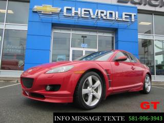 Used 2005 Mazda RX-8 Gt, T.ouvrant for sale in Sainte-marie, QC