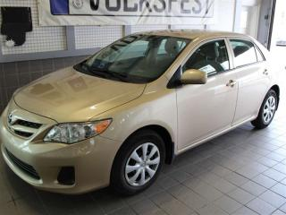 Used 2013 Toyota Corolla CE A/C for sale in Lasalle, QC