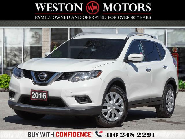 2016 Nissan Rogue S*PWR GRP*BTOOTH*REAR VIEW CAMERA*LOW KM!!*
