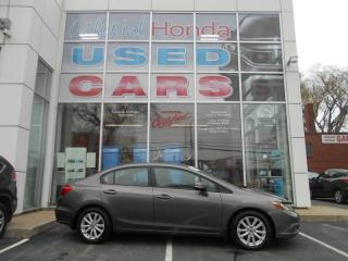 Used 2012 Honda Civic EX POWER SUNROOF AND HEATED SEATS for sale in Halifax, NS