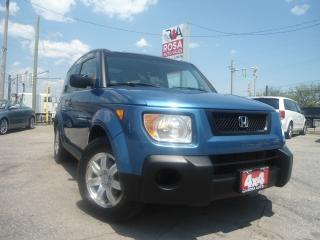 Used 2006 Honda Element 4WD Auto LOW KM SUNROOF 1OWNER GAS SAVER NO ACCIDE for sale in Oakville, ON