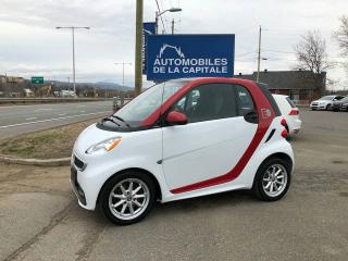 Used 2015 Smart fortwo *** ELECTRIQUE *** for sale in Chateau-richer, QC