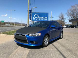 Used 2012 Mitsubishi Lancer GT for sale in Chateau-richer, QC