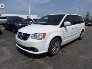Used 2014 Dodge Grand Caravan CREW 30th Anniversary - DVD - LEATHER TRIMED SEATS for sale in Aurora, ON