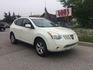 Used 2009 Nissan Rogue NO ACCIDENT,162K,SAFETY+3YEARS WARRANTY INCLUDED for sale in North York, ON