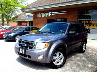 Used 2008 Ford Escape XLT V6 4WD Warranty NO ACCIDENT Certified for sale in Concord, ON