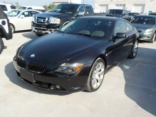 Used 2005 BMW 645 CI AUTOMATIC for sale in Innisfil, ON