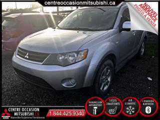 Used 2009 Mitsubishi Outlander 2RM MAGS/AIR/VITRES/CRUISE IMPECCABLE for sale in Terrebonne, QC