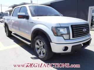 Used 2011 Ford F150 FX4 SUPERCREW 4X4 4D for sale in Calgary, AB