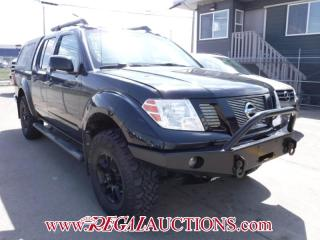 Used 2012 Nissan FRONTIER  4D CREW CAB 4WD for sale in Calgary, AB